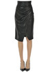 Eco-leather pencil skirt Pinko