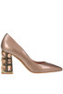 Jewel heel pumps Tiffi