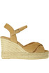 Blaudell suede wedge sandals Castaner