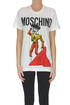 Printed cotton t-shirt Moschino Couture