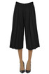 Pleated wool skirt trousers Paio Crippa