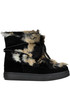 Padded boots with eco-fur Colors of California