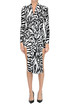 Animal print dress Balenciaga