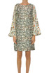 Printed silk tunic dress La Prestic Ouiston