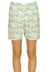Printed silk shorts Marni
