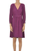 Viscose wrap dress Pomandere