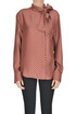 Polka dots silk shirt Mulberry