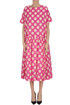 Polka dot cotton dress Casey Casey