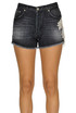 Micol embellished denim shorts Dondup