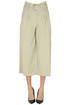 Cropped paper-bag trousers Michael Michael Kors