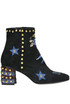 Embellished suede ankle-boots John Richmond