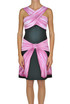 Printed viscose dress Moschino Couture