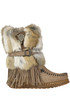 Martha leather and fur boots  El Vacquero