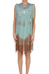 Fringed sheath dress Elisabetta Franchi