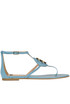 Leather sandals Elisabetta Franchi