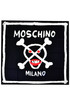 Printed silk scarf Moschino Couture