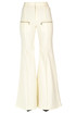 Flared cotton trousers Chloé
