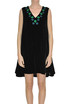 Embroidered velvet dress Jupe by Jackie