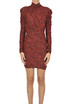 Animal print jersey dress Isabel Marant