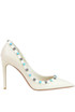 Rockstud Rolling leather pumps Valentino