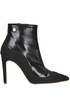 Leather and suede ankle-boots Love Moschino
