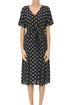 Printed viscose dress Bellerose