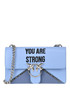 'Love strong' shoulder bag Pinko