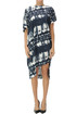 Tie dye cotton dress Vivienne Westwood Anglomania