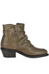 Roxy metallic effect leather ankle boots Fiorentini+Baker