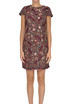 Embellished bouclè sheat dress Elisabetta Franchi