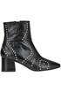 Studded leather ankle boots Marc Ellis