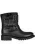 Tennese studded leather biker botts Ash