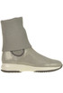 Interactive sole suede ankle-boots Hogan
