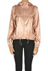 Metallic effect fabric jacket Pinko