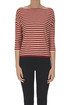Striped pullover with lurex Bellerose
