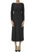 Wool knit long dress Incontro 7
