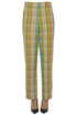 Checked print trousers Loewe