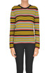 Striped cashmere pullover Happy Sheep
