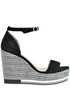 Suede wedge sandals Marcela Yil