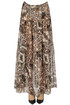 Animal print long skirt F..K Project