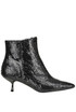 Fringed patent-leather ankle-boots Ncub