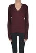 Ribbed wool knit pullover MM6 by Maison Martin Margiela