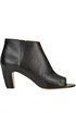 Leather open toe ankle boots Maison Margiela