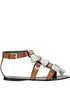 Leather tassels sandals Tory Burch