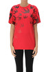 Swallows print cotton t-shirt MCQ Alexander McQueen