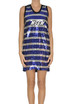 Striped sequined mini dress MSGM