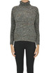 Turtleneck melange pullover Base Milano