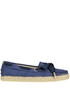 Rope sole suede mocassins Tod's