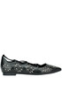 Sequined leather ballerinas Lola Cruz
