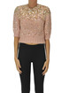 Embellished cropped pullover Dries Van Noten